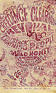 Creedence Clearwater Revival Handbill