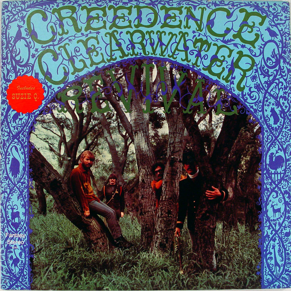 creedence clearwater revival vinyl 12 used 1983. Black Bedroom Furniture Sets. Home Design Ideas