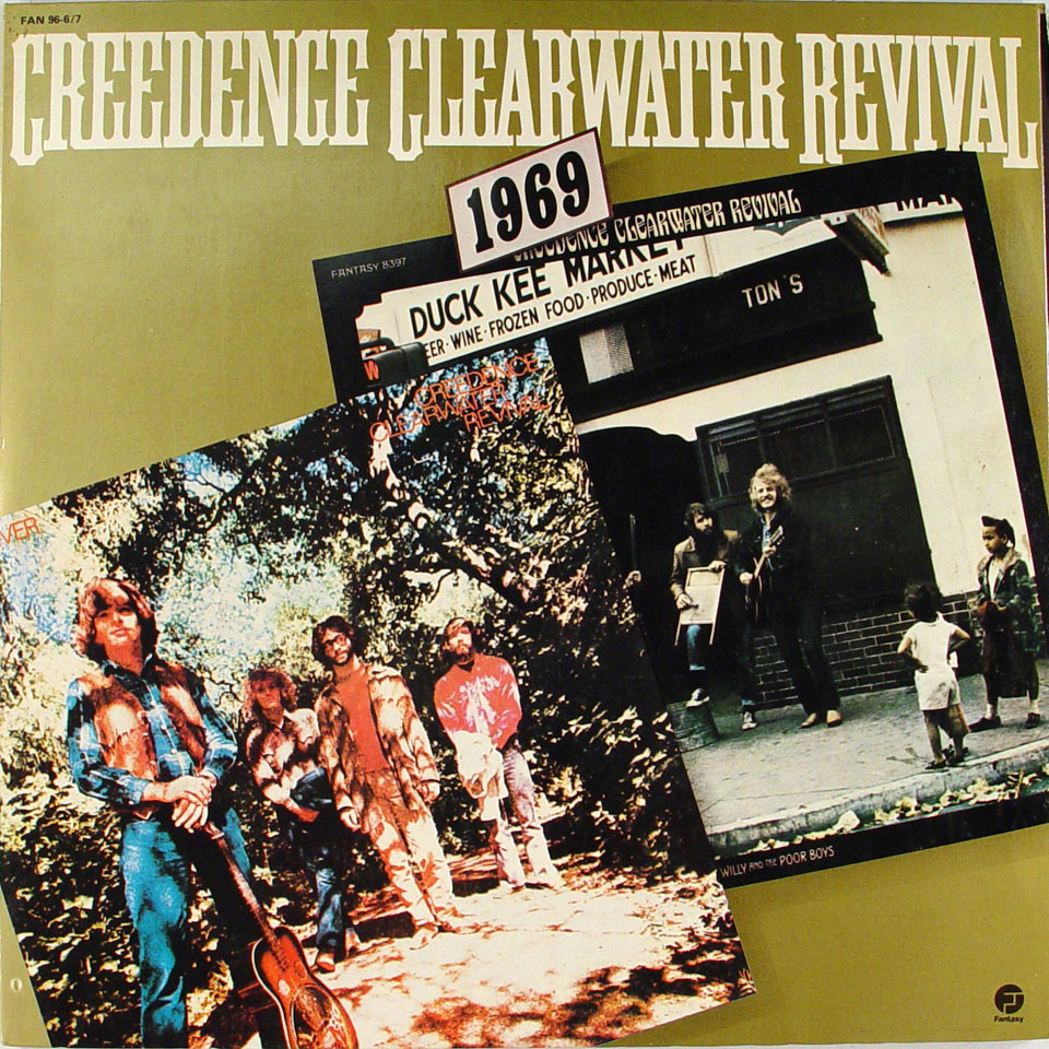 creedence clearwater revival vinyl 12 used 1978. Black Bedroom Furniture Sets. Home Design Ideas