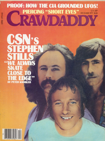 Crosby, Stills & Nash Crawdaddy Magazine