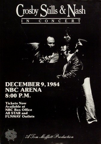 Crosby, Stills & Nash Poster