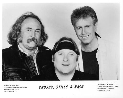 Crosby, Stills & NashPromo Print