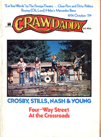 Crosby, Stills, Nash & Young Crawdaddy Magazine