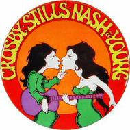 Crosby, Stills, Nash &amp; Young Retro Pin