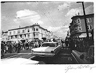 Crowd Premium Vintage Print