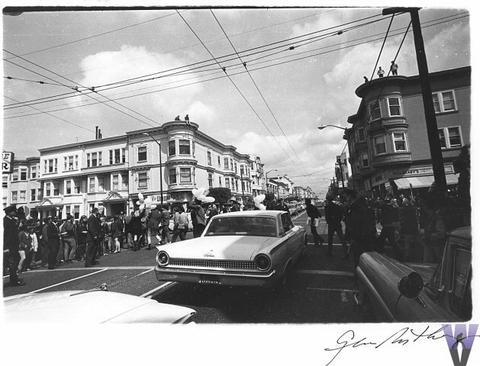 Crowd Vintage Print