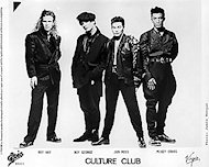 Culture Club Promo Print