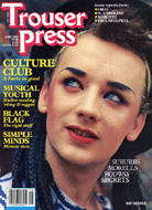 Culture Club Trouser Press Magazine