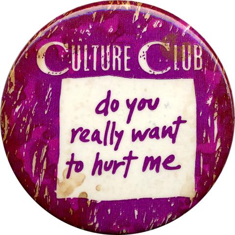 Culture ClubVintage Pin
