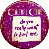 Culture Club Vintage Pin