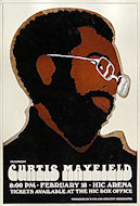 Curtis Mayfield Poster
