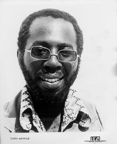 Curtis Mayfield Promo Print