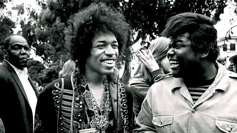 Jimi Hendrix and Band of Gypsys 