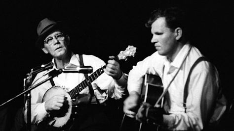 Doc Watson and Clarence Ashley, 1963