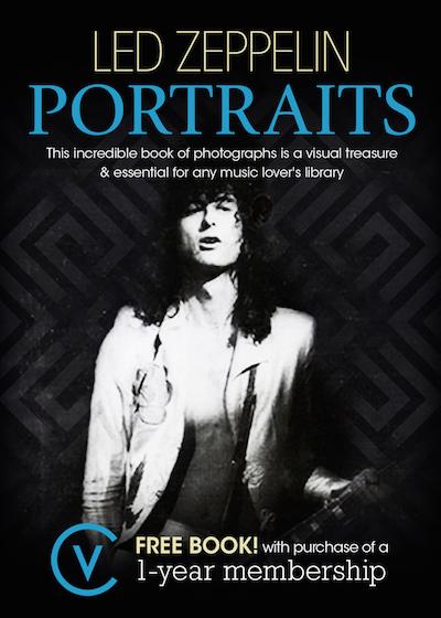Led Zeppelin Portraits Book
