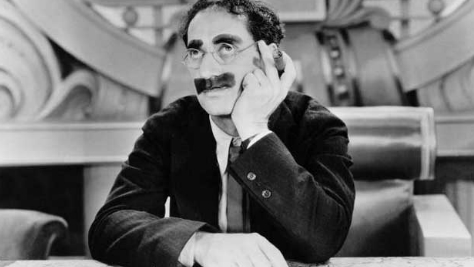 A Glimpse at Groucho Marx