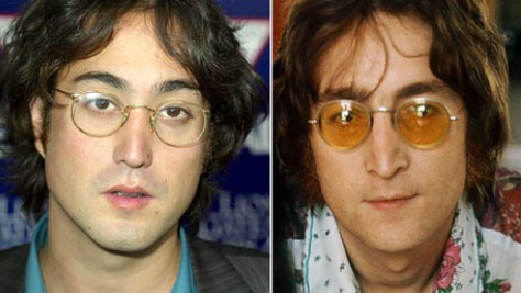 John and Sean Lennon, Birthday Twins