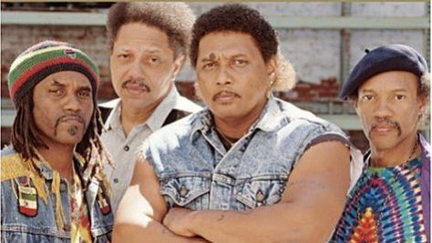 The Neville Brothers Get Funky in San Fran