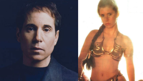 Paul Simon Marries Princess Leia