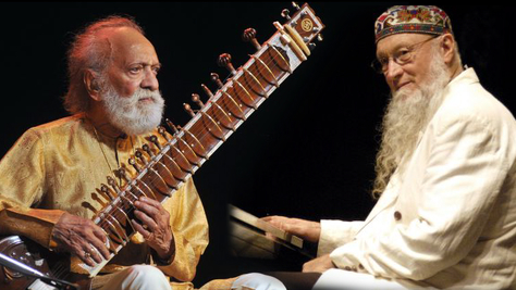 Terry Riley Channels Ravi Shankar