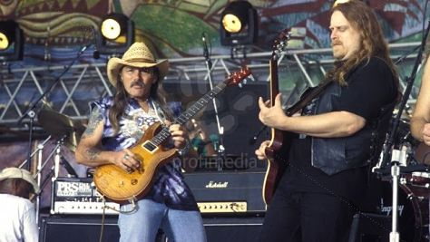 Rock: Allman Brothers Band Hittin' the Note