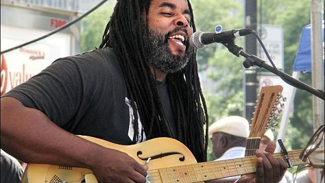 Alvin Youngblood Hart at Tramps, '98
