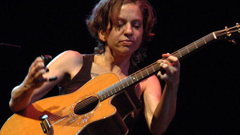 Ani DiFranco at the Hog Farm Pig-Nic