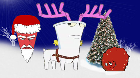 An Aqua Teen Hunger Force Xmas