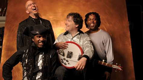 Folk & Bluegrass: Bela Fleck & The Flecktones at Tramps, '98