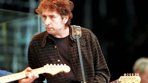 Rock: Bob Dylan at Laguna Seca