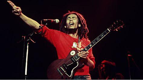 Rock: NEW: Bob Marley at Paul's Mall, 1975