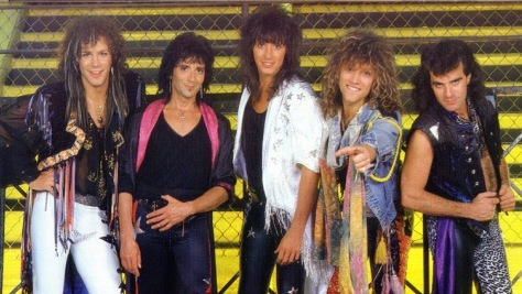 Bon Jovi Rocks Philly in 1984