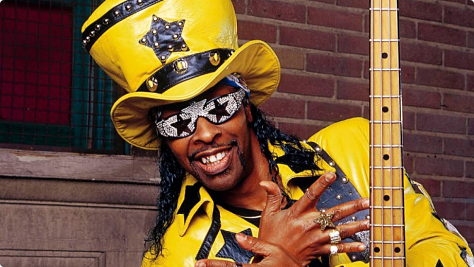 Rock: Bootsy Collins at Tramps, '94