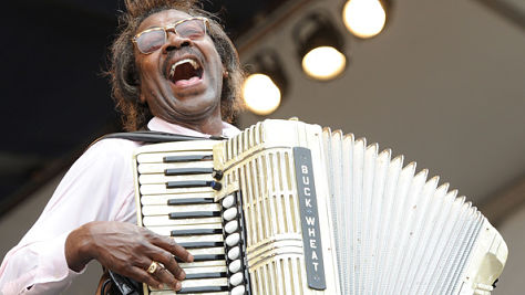 Folk & Bluegrass: Buckwheat Zydeco at Tramps, '96