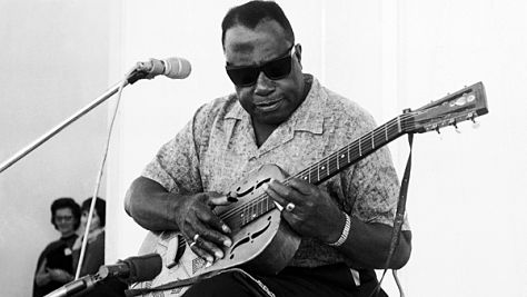 Bukka White at Ash Grove, '67