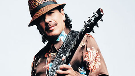 Rock: Video: Carlos Santana Does Jimi