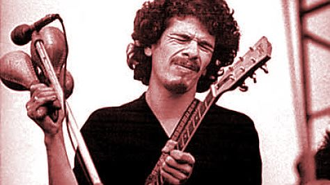 Rock: Video: Carlos Santana at Tanglewood, 1970