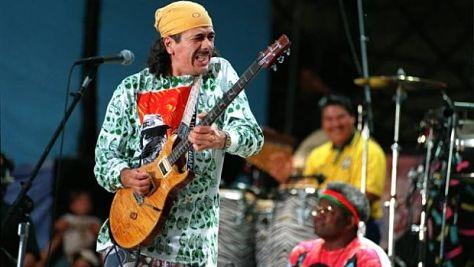 Video: Santana at Woodstock '94