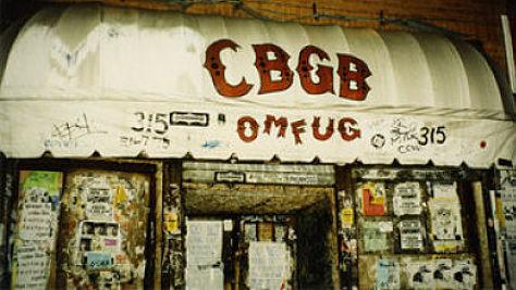 A CBGB Memorial Playlist
