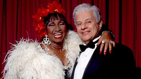 Video: Tito Puente Welcomes Celia Cruz