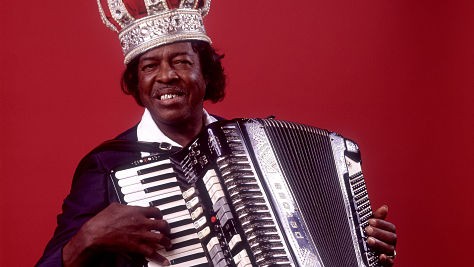 Clifton Chenier in New Orleans, 1970