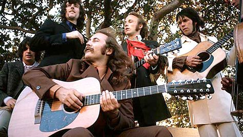 Folk & Bluegrass: CSNY's Heavenly Harmonies