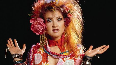 Rock: Cyndi Lauper is So Unusual