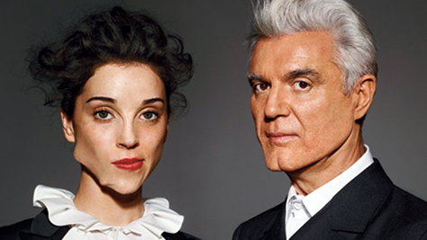 David Byrne + St. Vincent Playlist