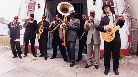 Rock: Dirty Dozen Brass Band at Bonnaroo