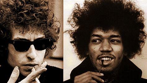 A Jimi Hendrix-Bob Dylan Playlist