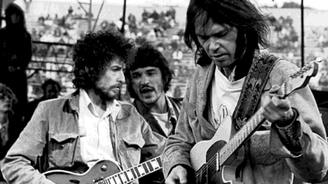 Rock: Bob Dylan & Neil Young in SF