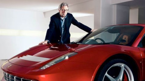 Slowhand Drives Fast in His Ferrari SP12 EC