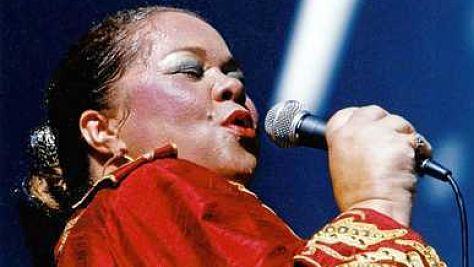 Etta James at Tramps, '93