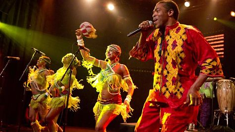 Folk & Bluegrass: Video: Femi Kuti at Newport 2000